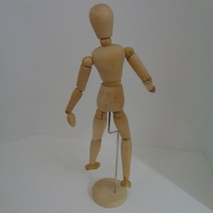"""Wooden Movable Artist Figue Model 16"""" Tall"""